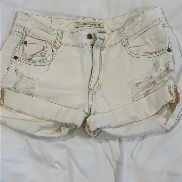 French Connection Pants - Denim shorts